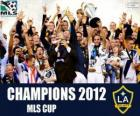 The Los Angeles Galaxy, MLS Cup 2012 champion