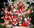 Christmas elves group