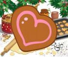 Heart's shaped cookie