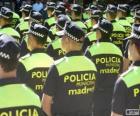Municipal police, madrid