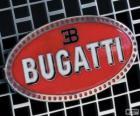 Logo of Bugatti, French brand of Italian origin