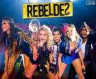 RebeldeS is a Brazilian musical group which appeared in the soap opera Rebel Rio
