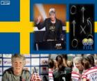 Coach of the Year FIFA 2012 for Women's football winner Pia Sundhage