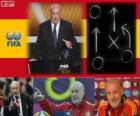 Coach of the Year FIFA 2012 for Men's football Vicente del Bosque