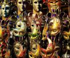 Classic carnival masks