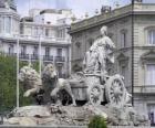 Fountain of Cibeles, Madrid, Spain