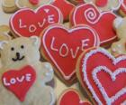 Cookies to celebrate Valentine's day