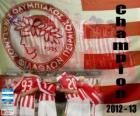 Olympiacos Piraeus, Super League 2012-2013 champion