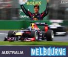 Sebastian Vettel - Red Bull - 2013 Australian GP, 3rd classified