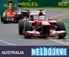 Fernando Alonso - Ferrari - 2013 Australian GP, 2º classified
