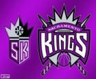 Logo Sacramento Kings, NBA team. Pacific Division, Western Conference
