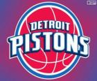 Logo Detroit Pistons, NBA team. Central Division, Eastern Conference