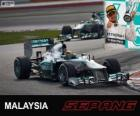Lewis Hamilton - Mercedes - 2013 Malaysia Grand Prix, 3rd classified