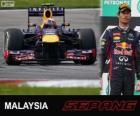 Mark Webber - Red Bull - 2013 Malaysia Grand Prix, 2º classified