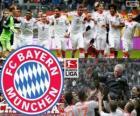 F. C. Bayern Munich, champion of the Bundesliga 2012-13