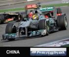 Lewis Hamilton - Mercedes - 2013 Chinese Grand Prix, 3rd classified