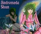 Andromeda Shun, the Bronze Saint from Andromeda's constellation