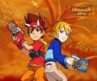 Max and Rex, two of the protagonists in Dinosaur King