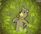 The beautiful  bear Cindy is the girlfriend of Yogi Bear