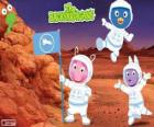 The Backyardigans astronauts have arrived at Mars