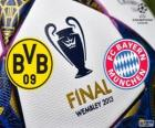 Borussia Dormunt vs Bayern Munich. Final UEFA Champions League 2012-2013. Wembley Stadium, London, Great Britain