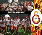 Galatasaray, champion Super Lig 2012-2013, Turkey Football League