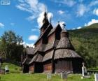 Borgund Stave Church, Norway