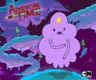 Lumpy Space Princess, a cloud with a star on the forehead