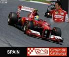 Felipe Massa - Ferrari - 2013 Spanish Grand Prix, 3rd classified