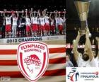 Olympiacos Piraeus, Euroleague Basketball 2013 champion