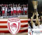 Olympiacos Piraeus, Euroleague Basketball 2013 champion