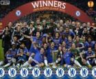 Chelsea FC, champion UEFA Europe League 2012-2013