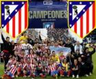 Atletico Madrid champion Copa del Rey 2012-2013