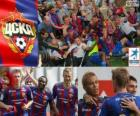 CSKA Moscow, champion of the Russian Football League, Premier League 2012-2013