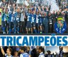 Porto, Portugal Football League 2012-2013 champion, National First Division