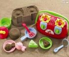 Accessories for playing on the beach