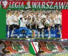 Legia Warsaw, Ekstraklasa 2012-2013 champion, Poland Football League