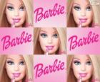 Collage of Barbie