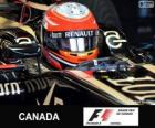 Romain Grosjean - Lotus - Circuit Gilles Villeneuve, Montreal, 2013