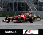 Fernando Alonso - Ferrari - 2013 Canada Grand Prix, 2º classified