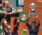 Serena Williams champion Roland Garros 2013