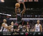 2013 NBA Finals, 4th game, Miami Heat 109 - San Antonio Spurs 93