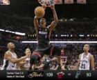 2013 NBA Finals, 4th game, Miami Heat 109 - San Antonio Spurs 93