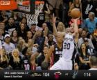 2013 NBA Finals, 5th game, Miami Heat 104 - San Antonio Spurs 114