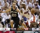 2013 NBA Finals, 7 th game, San Antonio Spurs 88 - Miami Heat 95