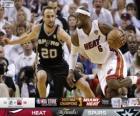 2013 NBA Finals, 7 th game, San Antonio Spurs 88 - Miami Heat 95
