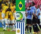 Brazil - Uruguay, semi-finals, 2013 FIFA Confederations Cup