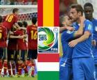 Spain - Italy, semi-finals, 2013 FIFA Confederations Cup