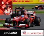 Fernando Alonso - Ferrari - 2013 British Grand Prix, 3rd classified