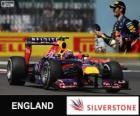 Mark Webber - Red Bull - 2013 British Grand Prix, 2º classified